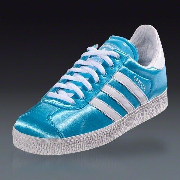 NEW ADIDAS GAZELLE II Aqua Blue ORIGINALS CASUAL WOMENS SHOES G60436 #adidas #Athletic
