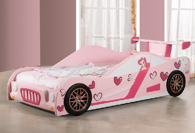 Buy The Best And New Car Beds For Girls Dashing And New Pink Love
