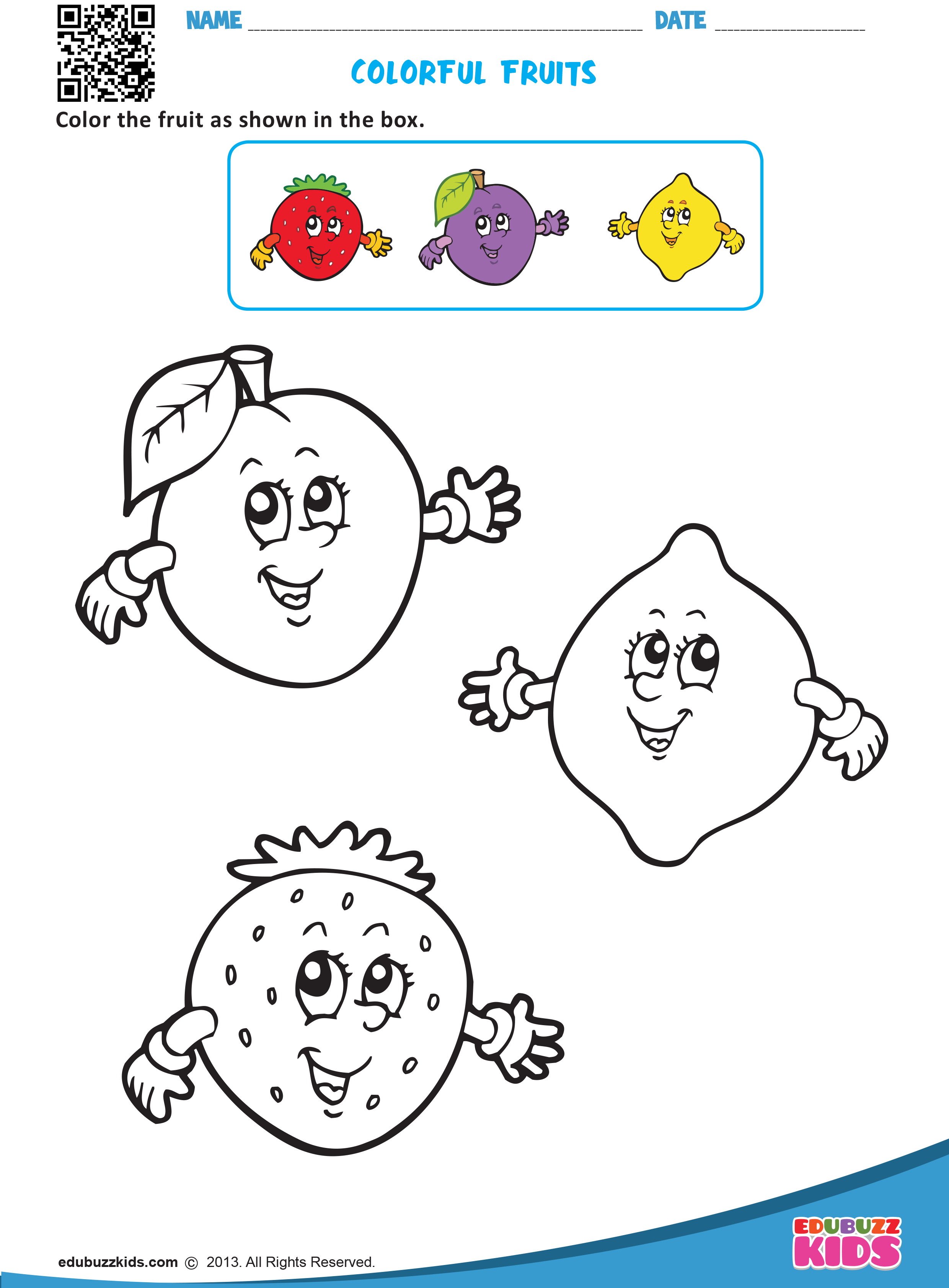 Kindergarten Colors Worksheets With Printable Help Kids