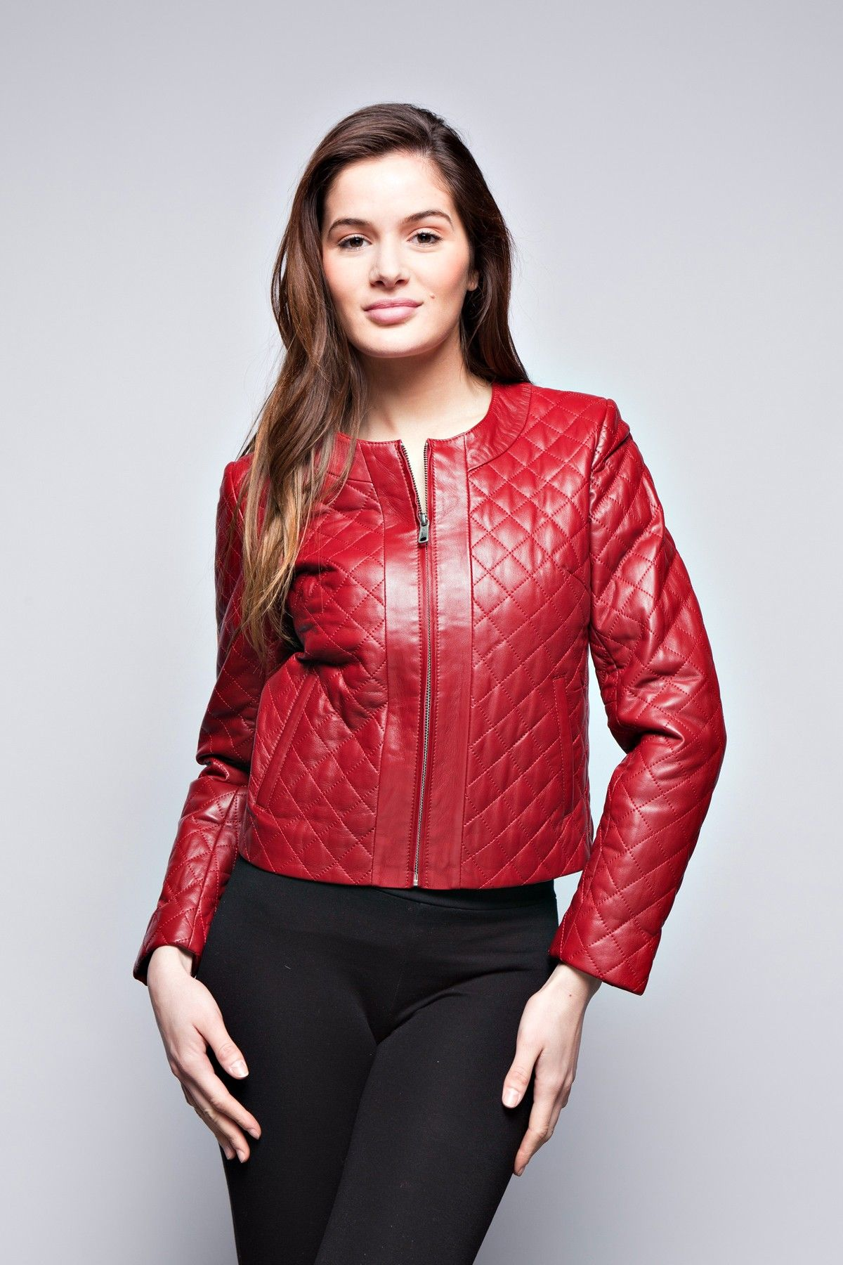 LEATHER JACKETS ELIZA We are a French company