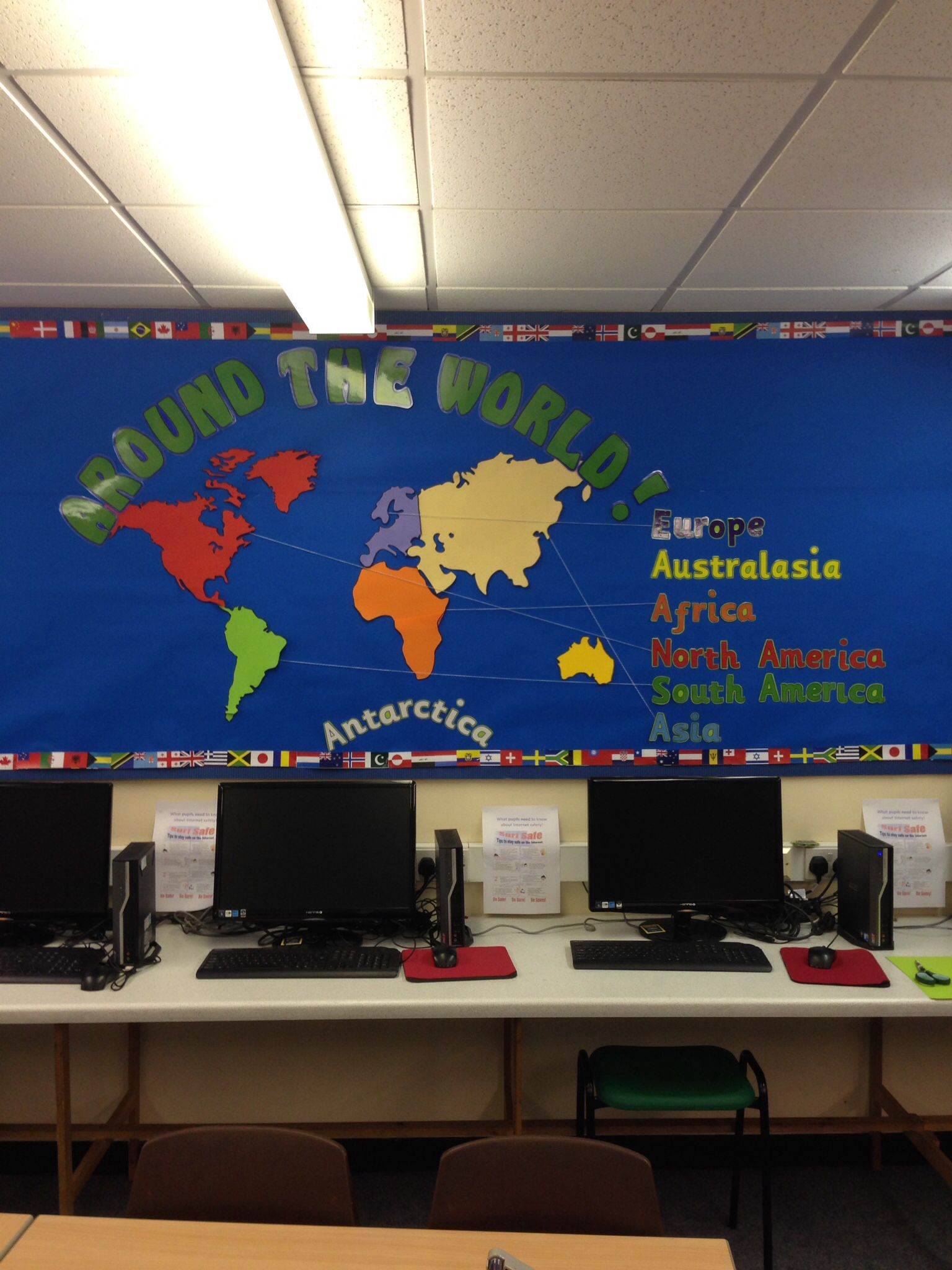 Geography Classroom Decor : Around the world theme summer