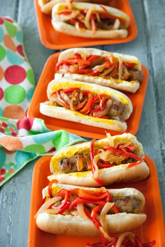 These a good. I boil them first in beer, then grill them..Yummy..MIDWESTERN-STYLE BEER BRATS