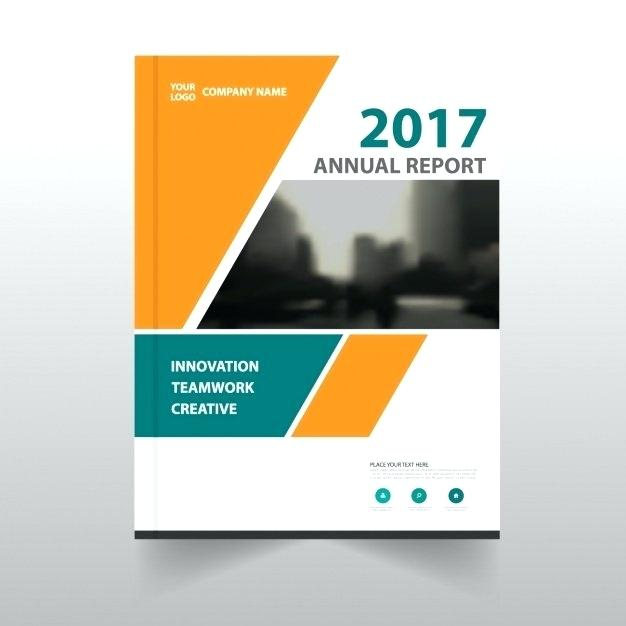 Annual Report Template Word Free Download 6 Professional Templates Book Cover Design Template Book Cover Template Book Cover Design