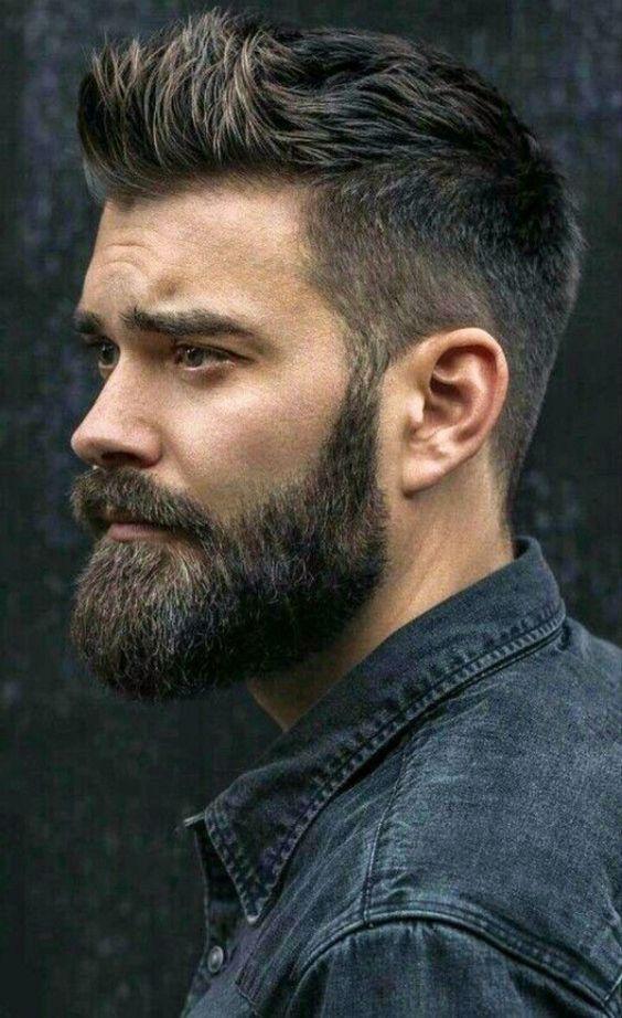 50 Short Hair With Beard Styles For Men - Sharp Gr