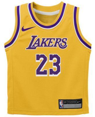 54618f36e79 Nike LeBron James Los Angeles Lakers Icon Replica Jersey