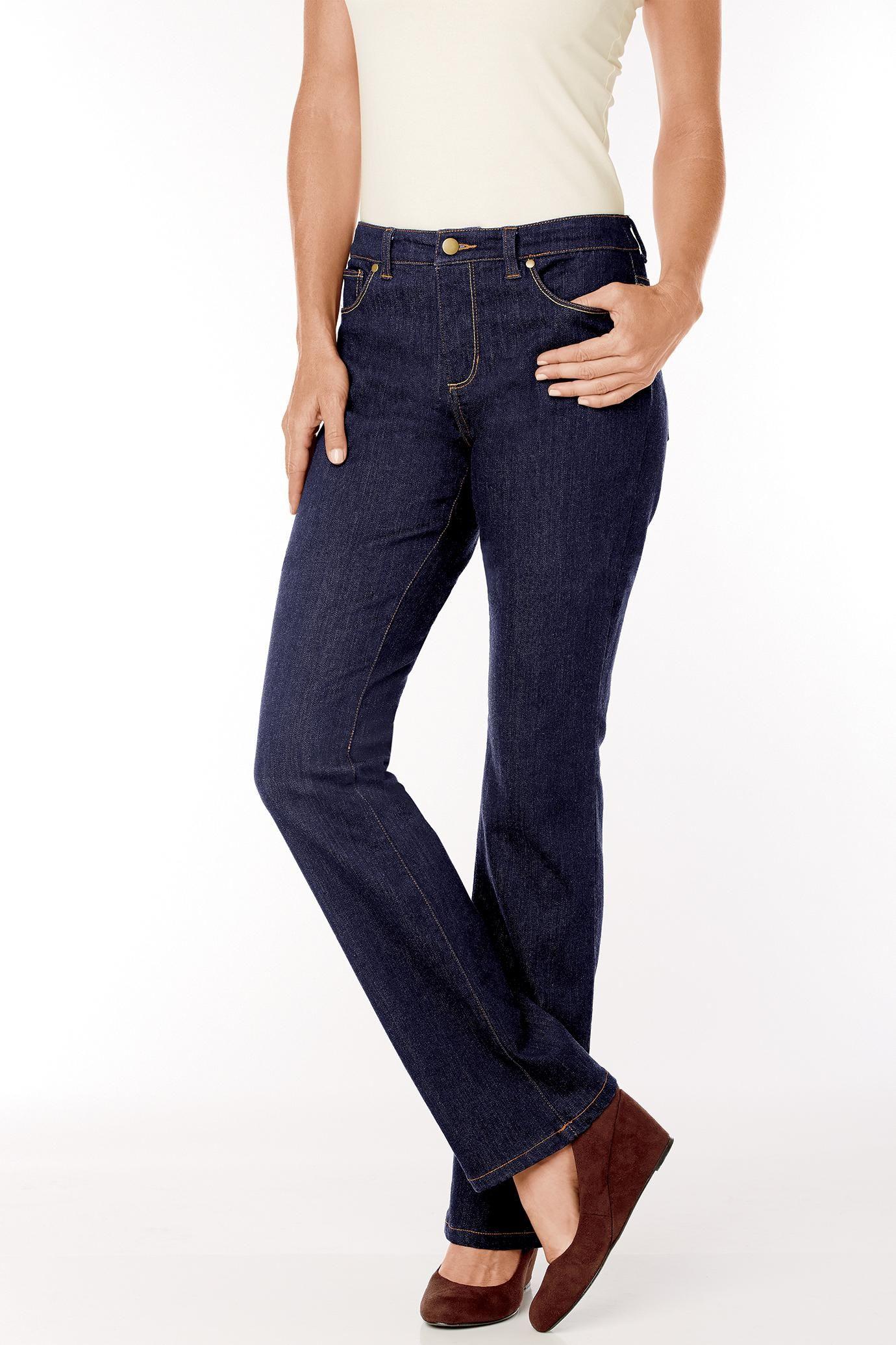 Tummy-Slimmer Jeans by JG Hook   Chadwicks of Boston