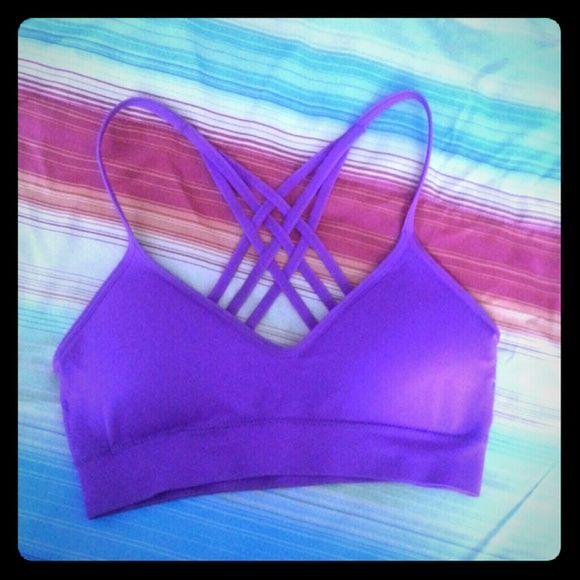Padded Bralette Purple worn once Intimates & Sleepwear Bras