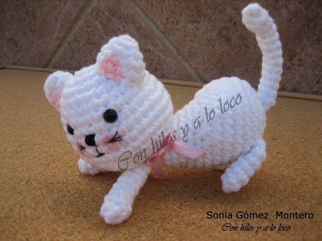 Amigurumis Gatos Patrones Gratis : Patrones de amigurumi gratuitos de gatos manualidades