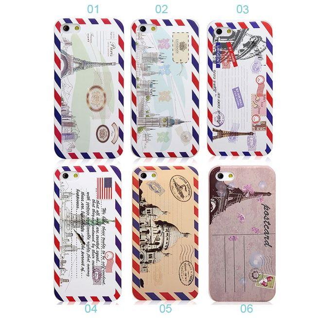 Iphone 4 5 Cases Fashion Design Retro Envelope Silicone Protector Matte Iphone 5 Case Cute Phone Cases Iphone Cases Iphone 5 Case
