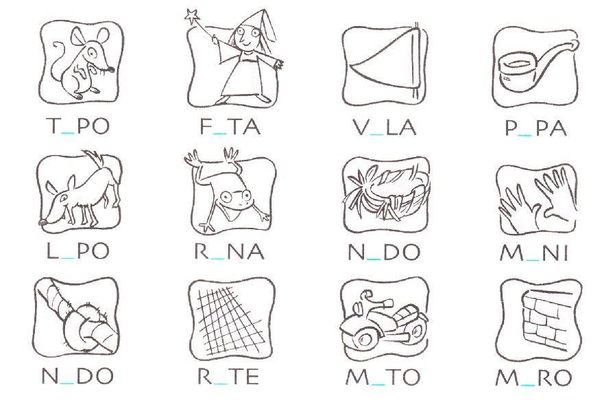 Scheda Sulle Vocali Completa Con Le Vocali Italiano Classe Prima