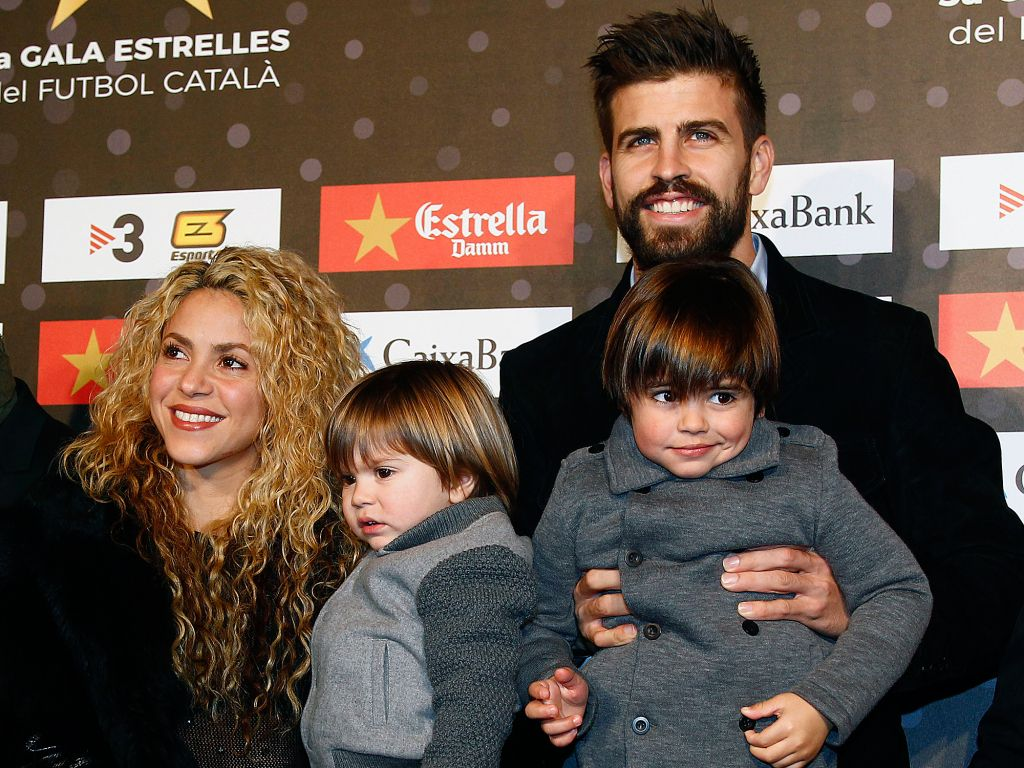 Clean Bill of Health! Shakira and Gerard Pique Step Out with Their Boys Following Son Sasha's Illness