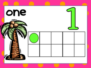 FREE Chicka Chicka Boom Boom Counting Play Dough Mats!!!! 1 to 10; download from Kindergarten Celebration!!