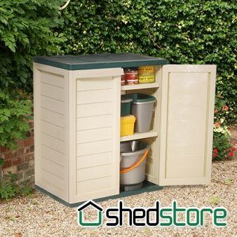 Shelf Plastic Utility Storage Cabinet