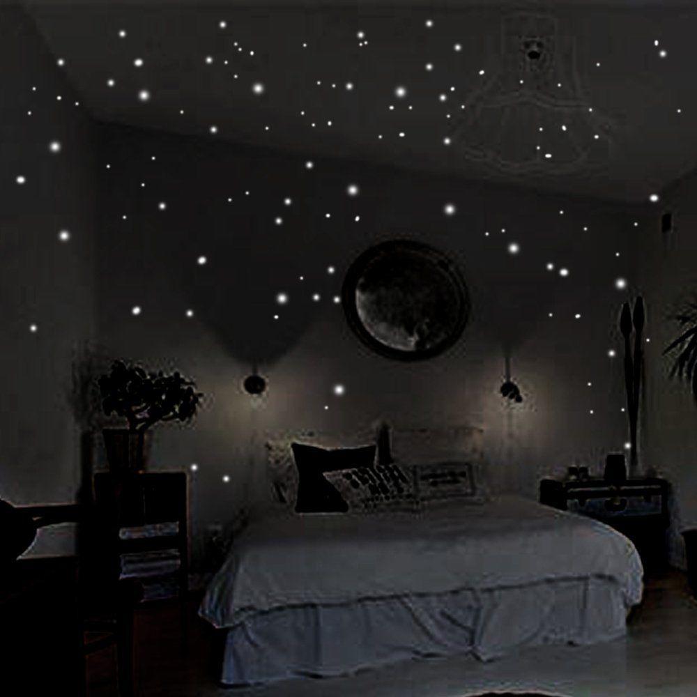 Room 400pcs Glow In The Dark
