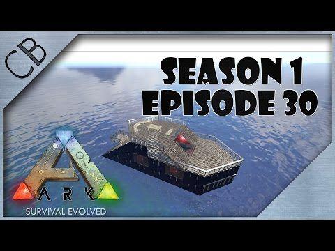 ARK: Survival Evolved - Amazing Raft v2 0! - S1Ep30 - YouTube | Ark