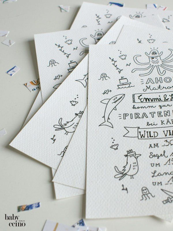 Piratenparty Einladung 3
