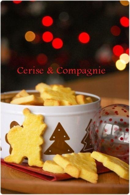 Butterbredele: Kleines Weihnachtsgebäck mit Zitrone #sabledenoel