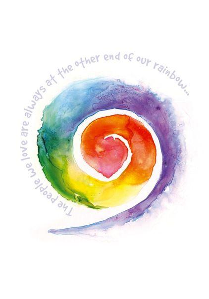 Rainbow spiral #creative #soulart
