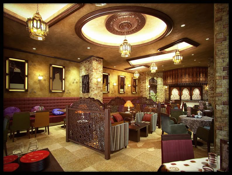 Moroccan restaurants interior design google search
