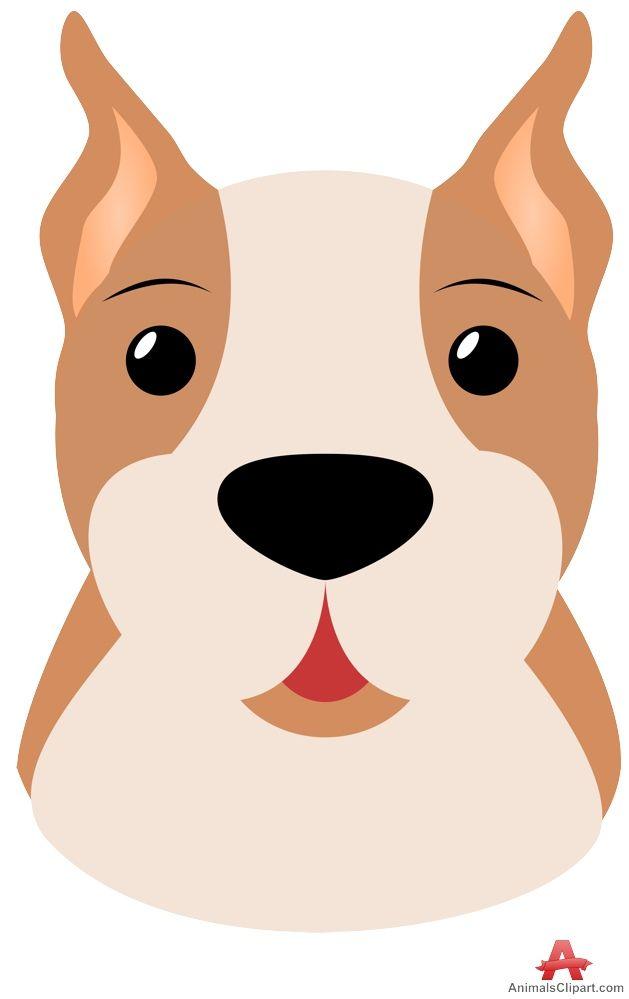 Pitbull Dog Clipart Dog Clip Art Dog Face Cute Puppy Videos