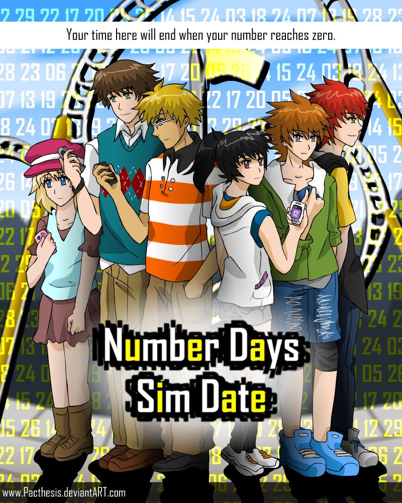Number days dating sim