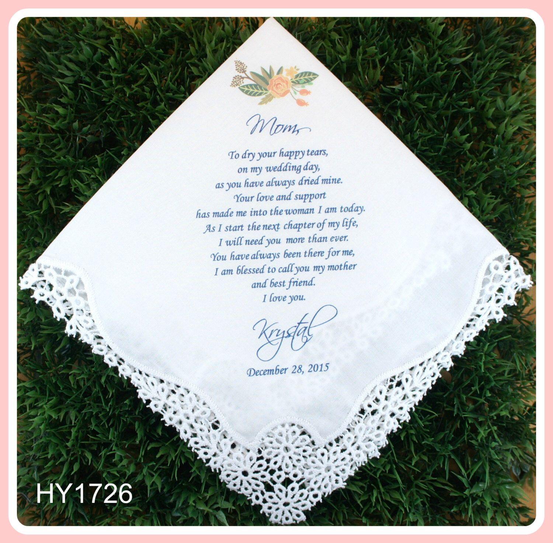 Mother of the Bride Handkerchief from the Bride-Wedding ...