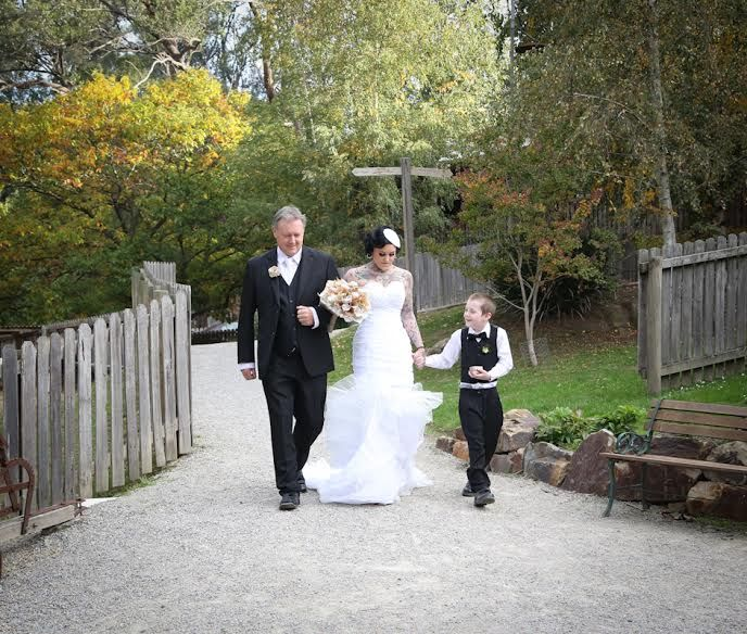 Wedding vows for blended families: Kids say, \