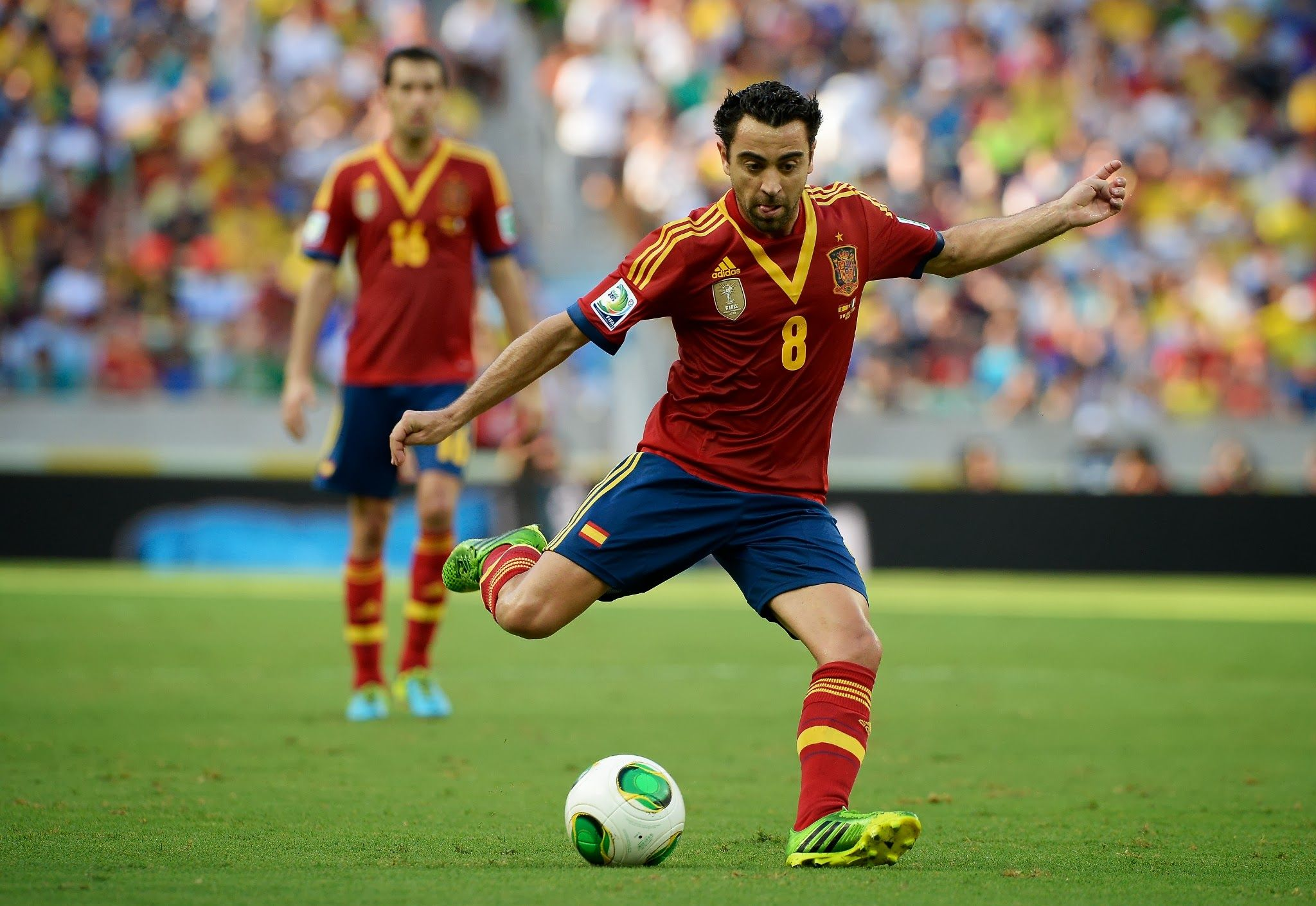 Xavi Spain Vs Italy Confederations Cup 2013 Fifa Football Spain Football National Football