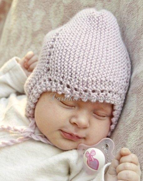 Вяжем шапочку для новорожденного