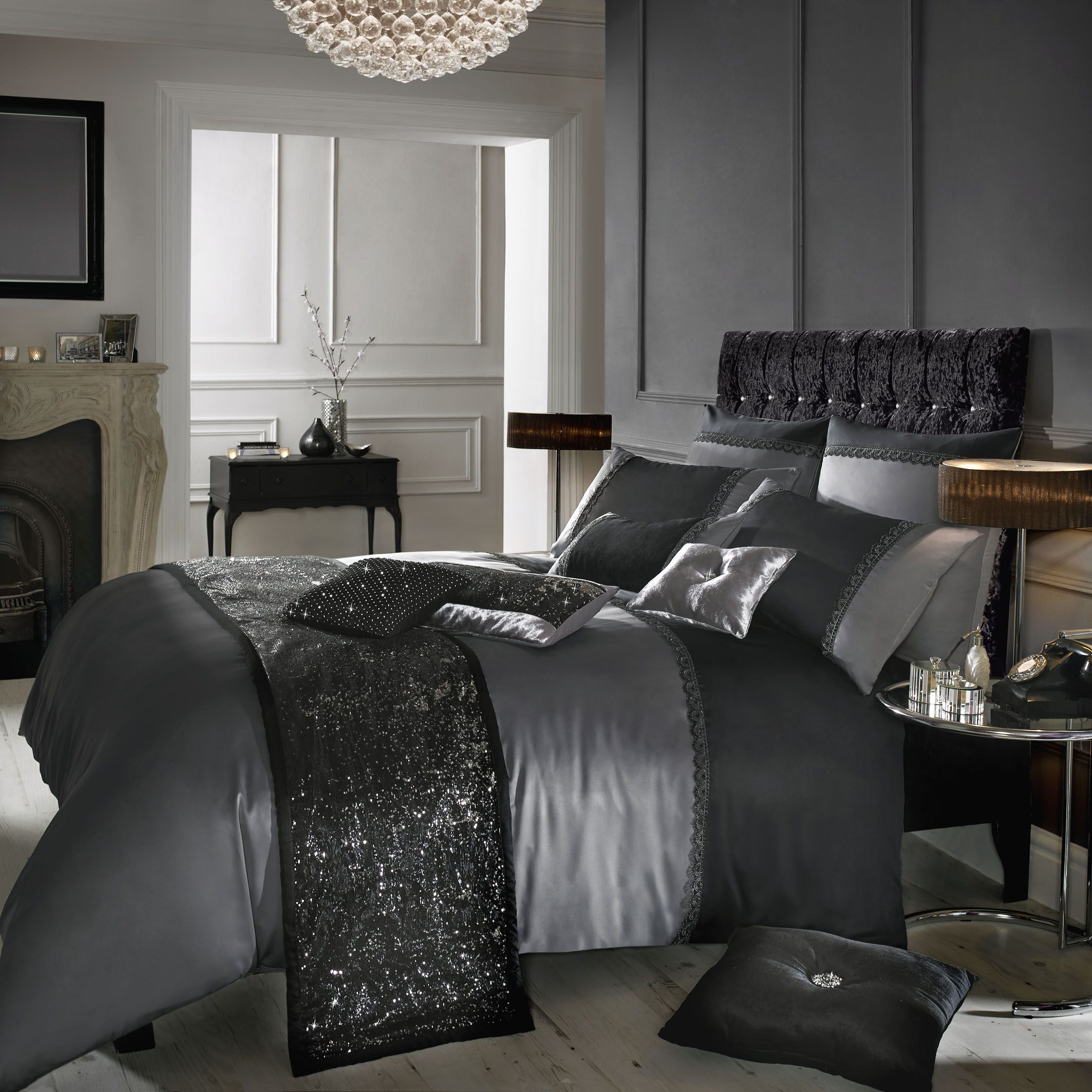plus patterned comforters grey with bedroom bed sham iron lace and gray sleep also comforter cushion combined for comfortable astonishing accent frame black satin set on dark