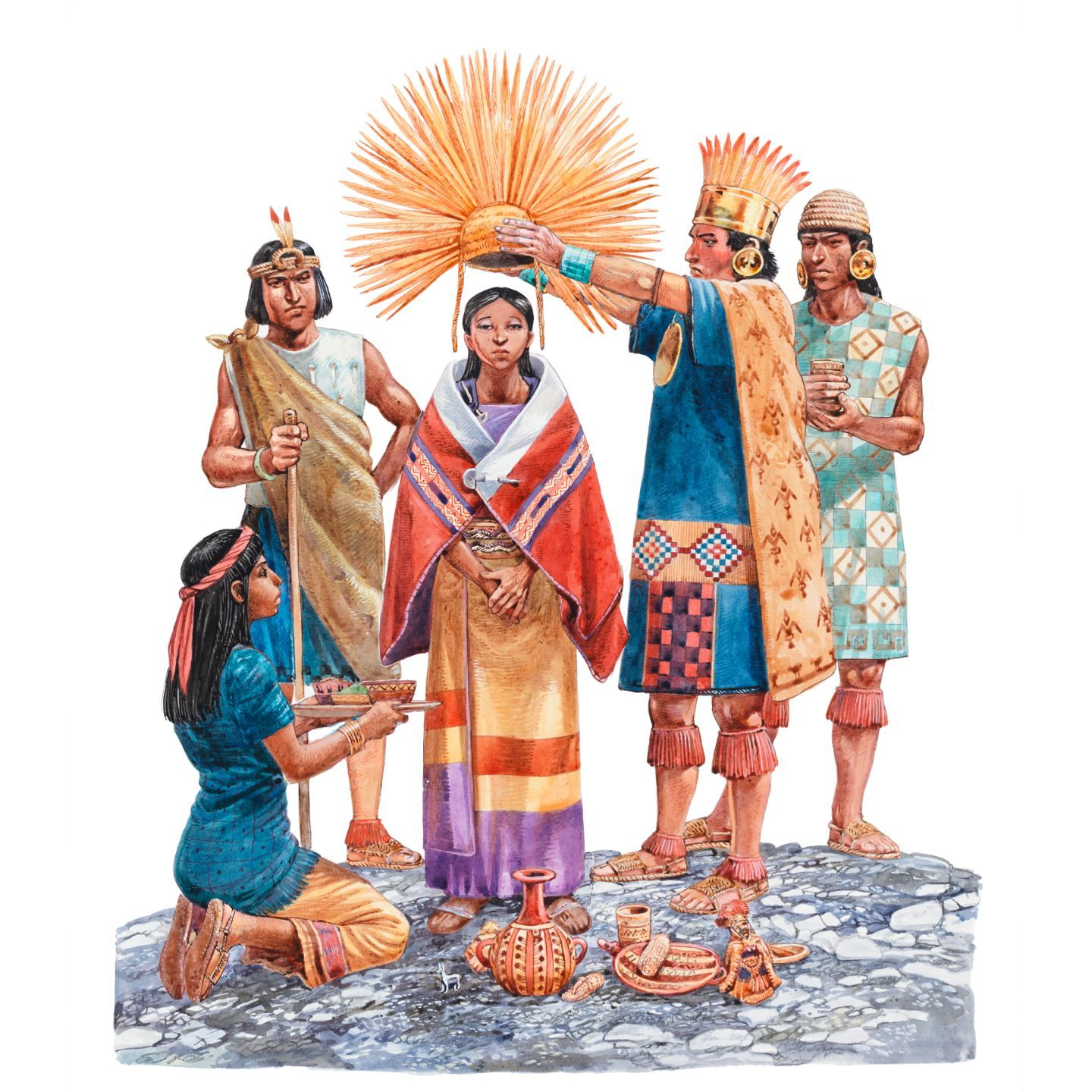 the history and culture of the inca empire The inca empire was absolutely massive, and guaman poma tells us that  in  some andean communities), inca religion and history, quipu accounting,  the  inca empire covered a spectrum of languages and cultures, and it.