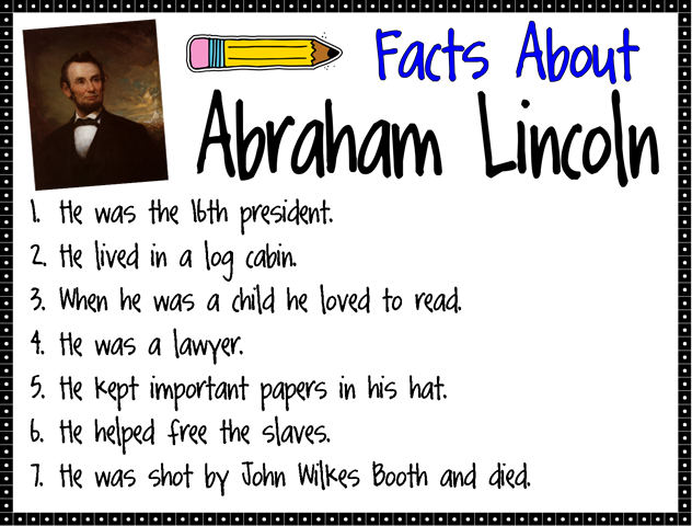 abraham lincoln adulthood facts