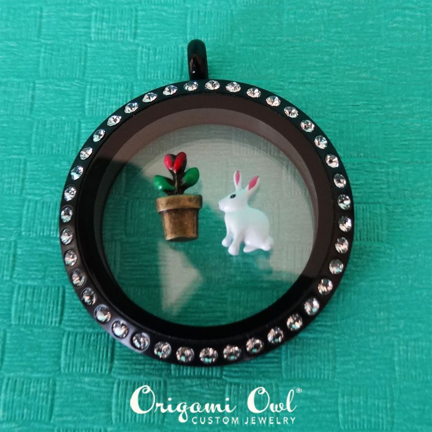 Origami owl charms limited edition easter bunny flower pot origami owl charms limited edition easter bunny flower pot charms 2pcs origamiowl jeuxipadfo Gallery