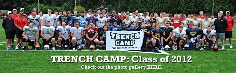 Trench Camp 2017 High School Linemen Football Camp Train With