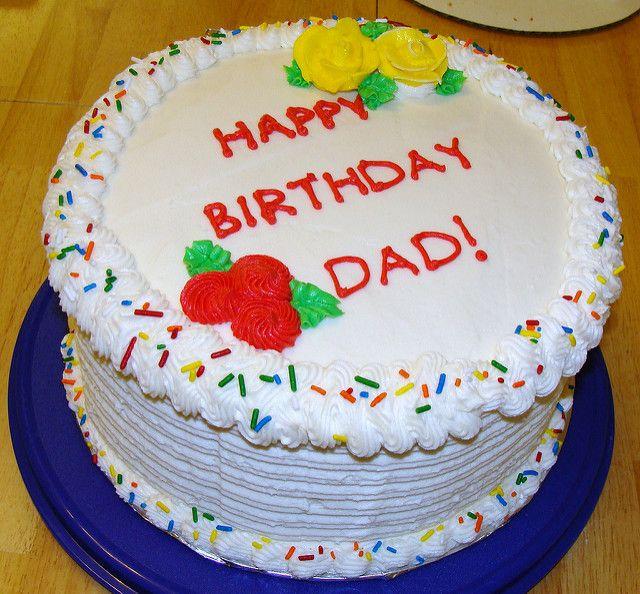Cake For Dad Happy Birthday Cakes Dad Birthday Cakes Birthday