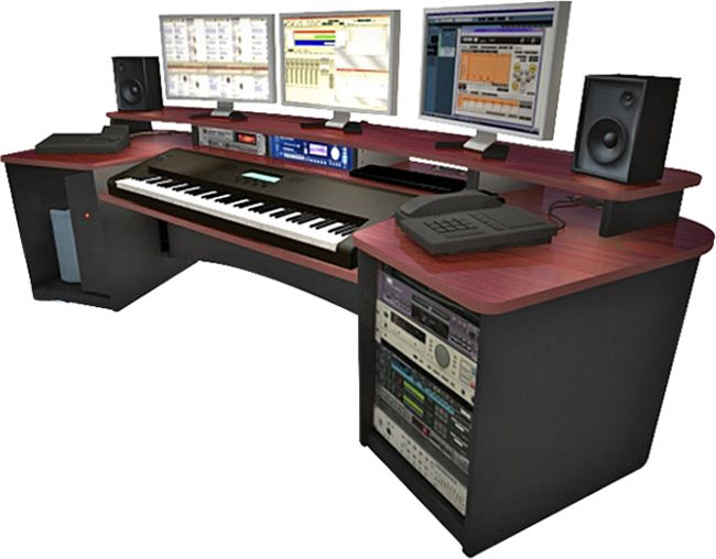 Omnirax Force K88 Studio Workstation Desk Desk Ideas Desk Work