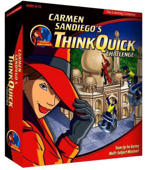 CARMEN SANDIEGO THINK QUCK CHALLENGE 1Clk Windows 10 8 7 Vista XP Install