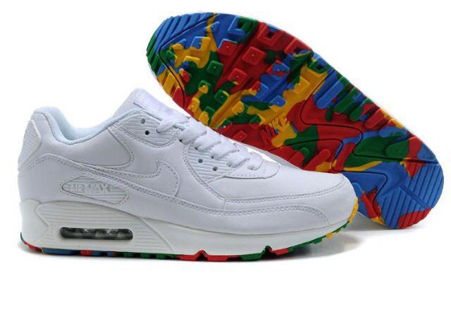 air max 90 rainbow sole