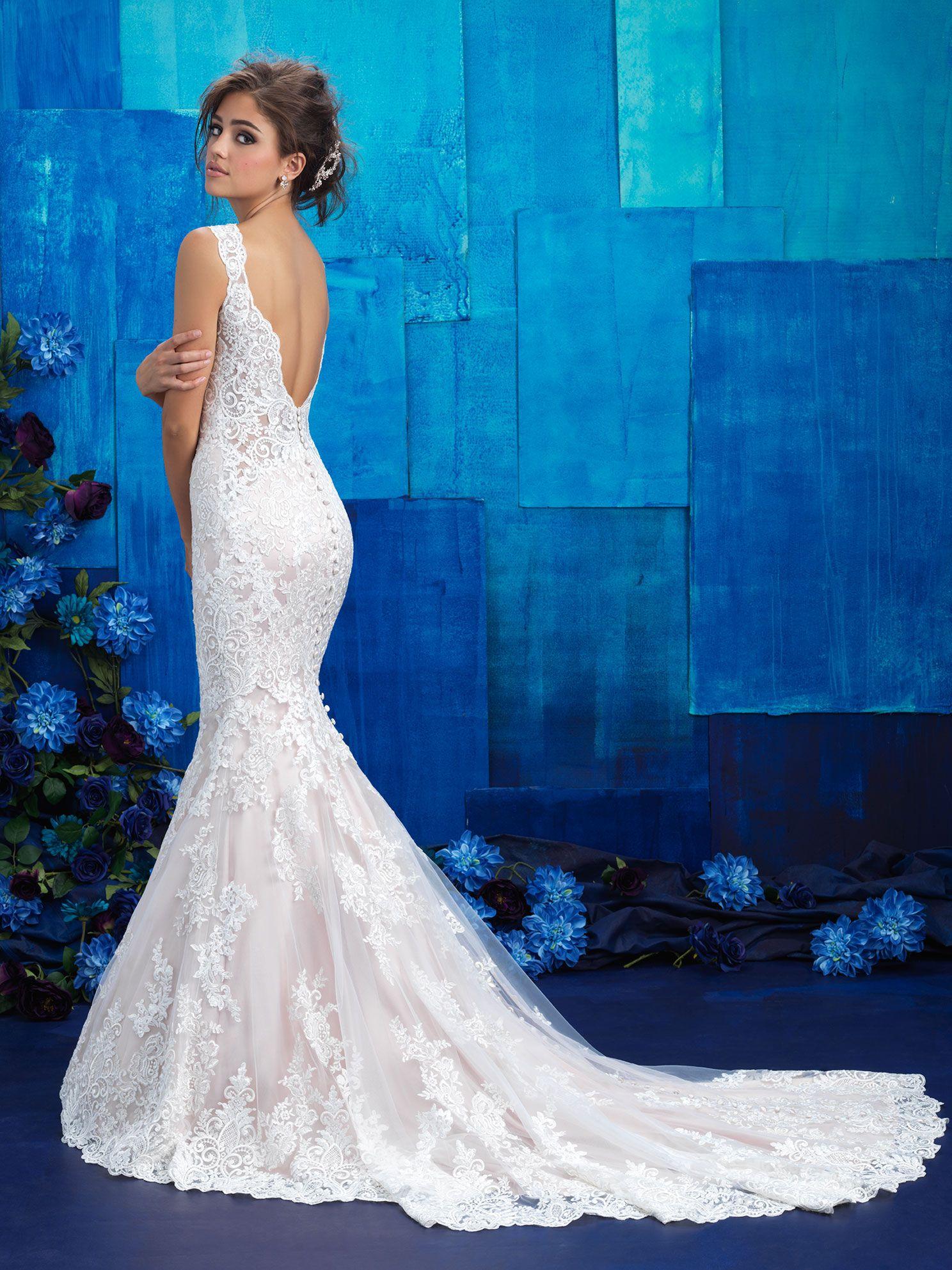 Vestido de Novia Allure 9419 - Maribel Arango Novias | Vestido Novia ...
