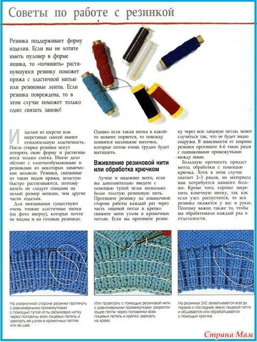 резинка в вязании