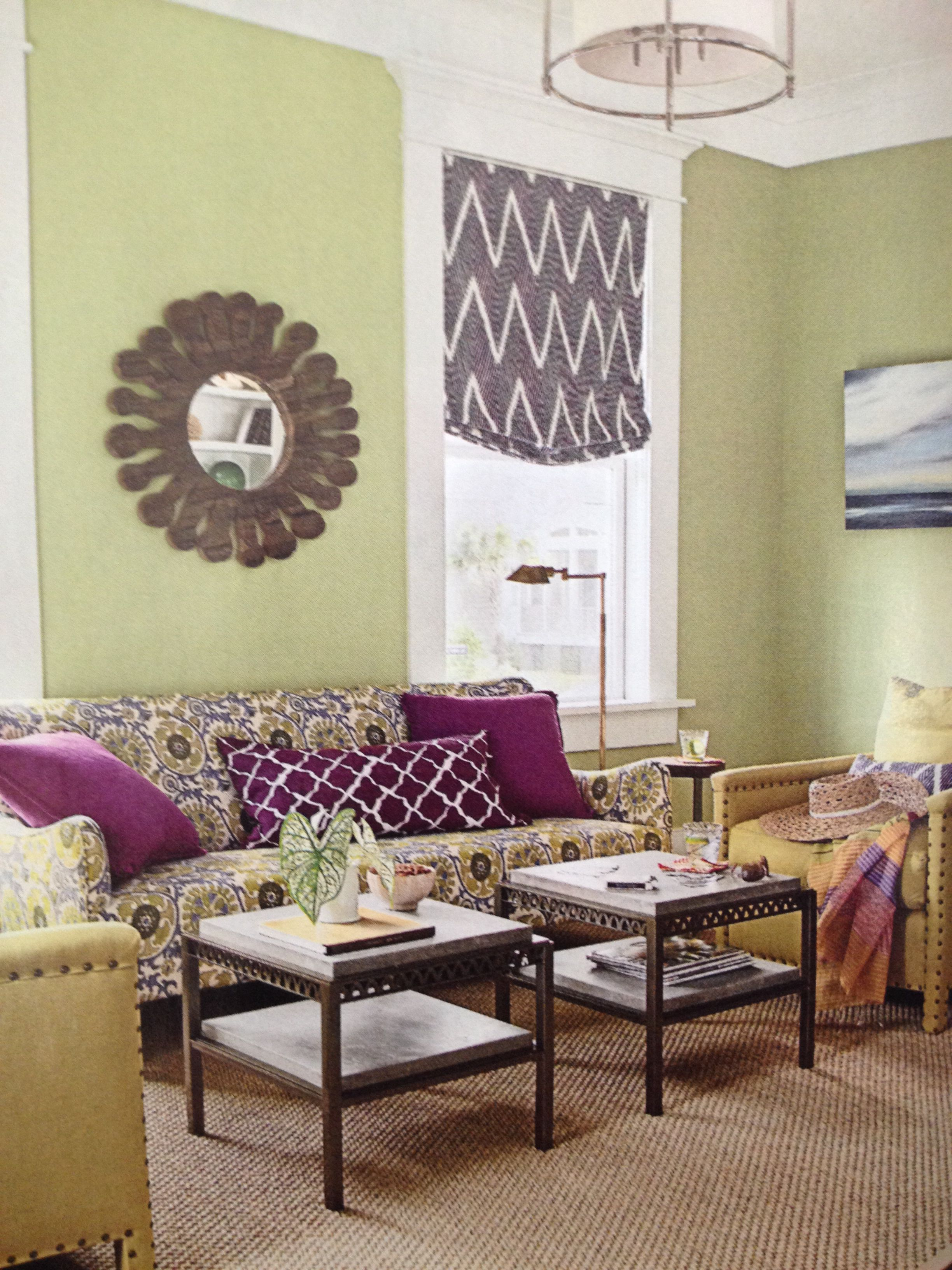 color combo sherwin williams hearts of palm on walls and eggplant rh pinterest com