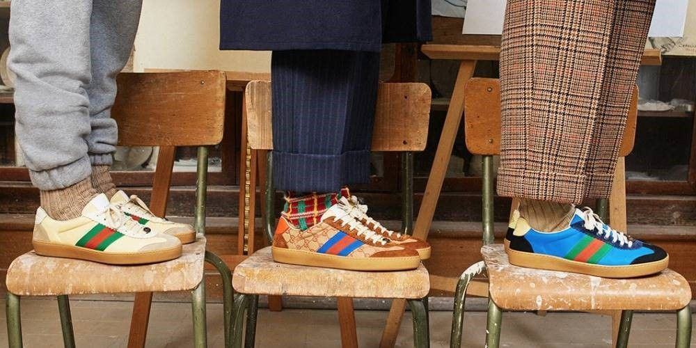 ce6f3731c57 Gucci release sneaker inspired by the Adidas Gazelle | Fashion ...