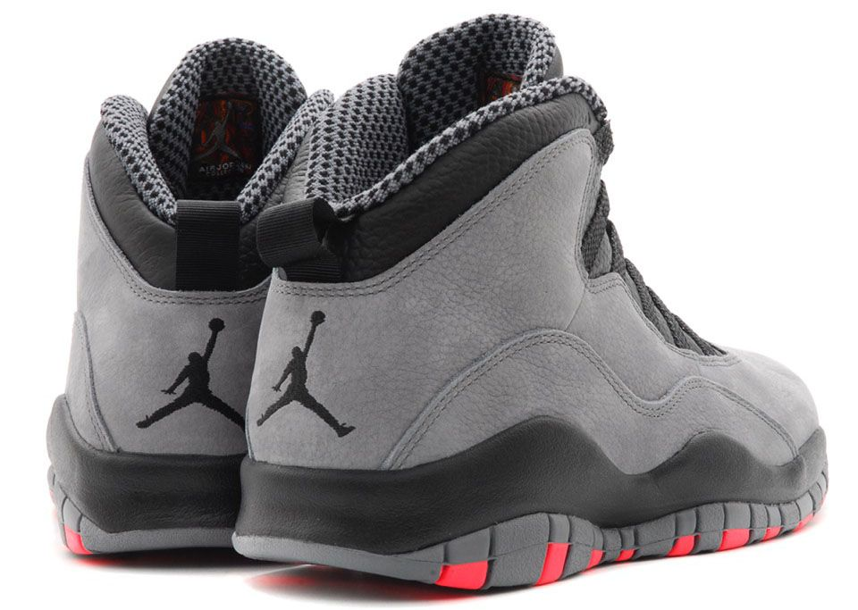 607e51986fdd80 Air Jordan 10 Cool Grey   Infrared (4)