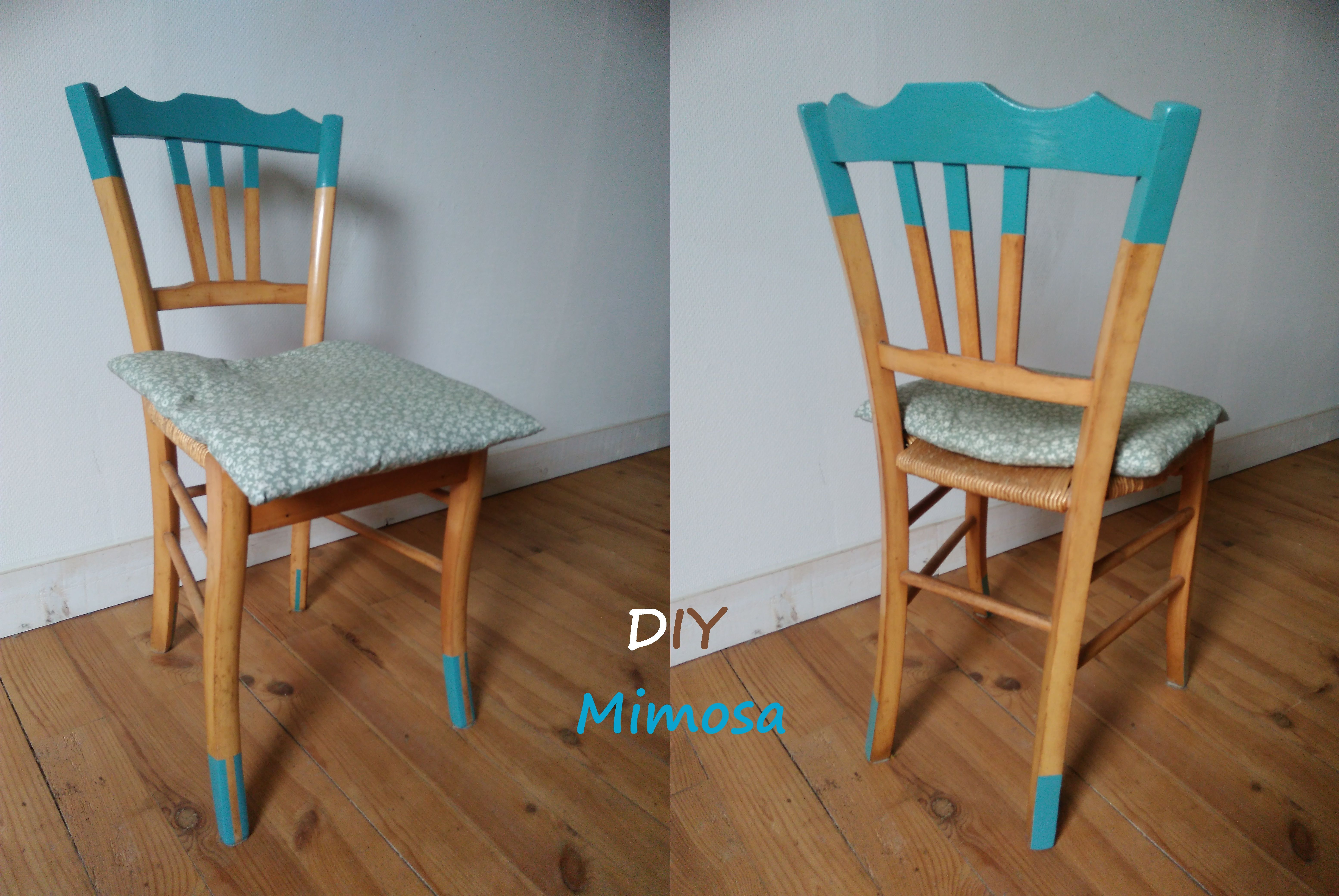 Chaise Paillee Relookee Chaise Paille Peinte Relooking Meuble Diy Vintage Relooking Meuble Relooking De Chaise Relooking De Mobilier