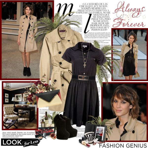 Look for less - Alexa Chung, created by helleka on Polyvore