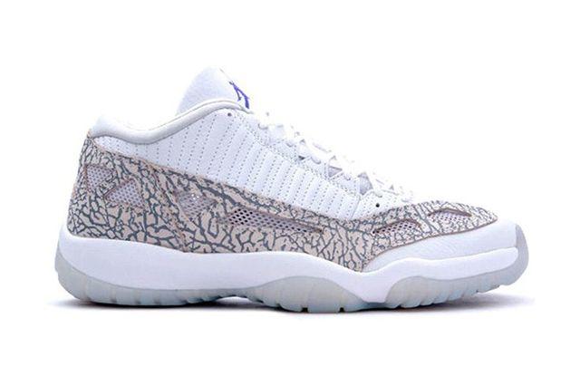 Air Jordan 11 Low (White/Cobalt) - Sneaker Freaker