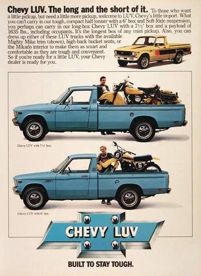 1981 chevy luv 4x4 specs   2 2L Diesel Isuzu Specifications