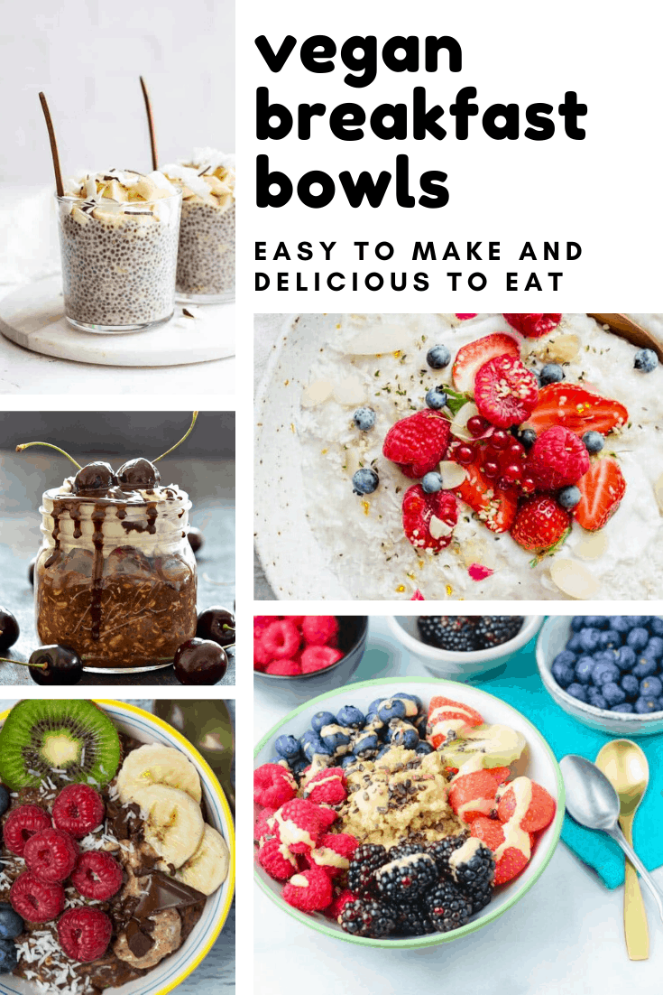 Vegan Plant Based Breakfast Bowl Recipes To Pretty Up Your Mornings In 2020 Breakfast Bowls Recipe Breakfast Bowls Plant Based Breakfast