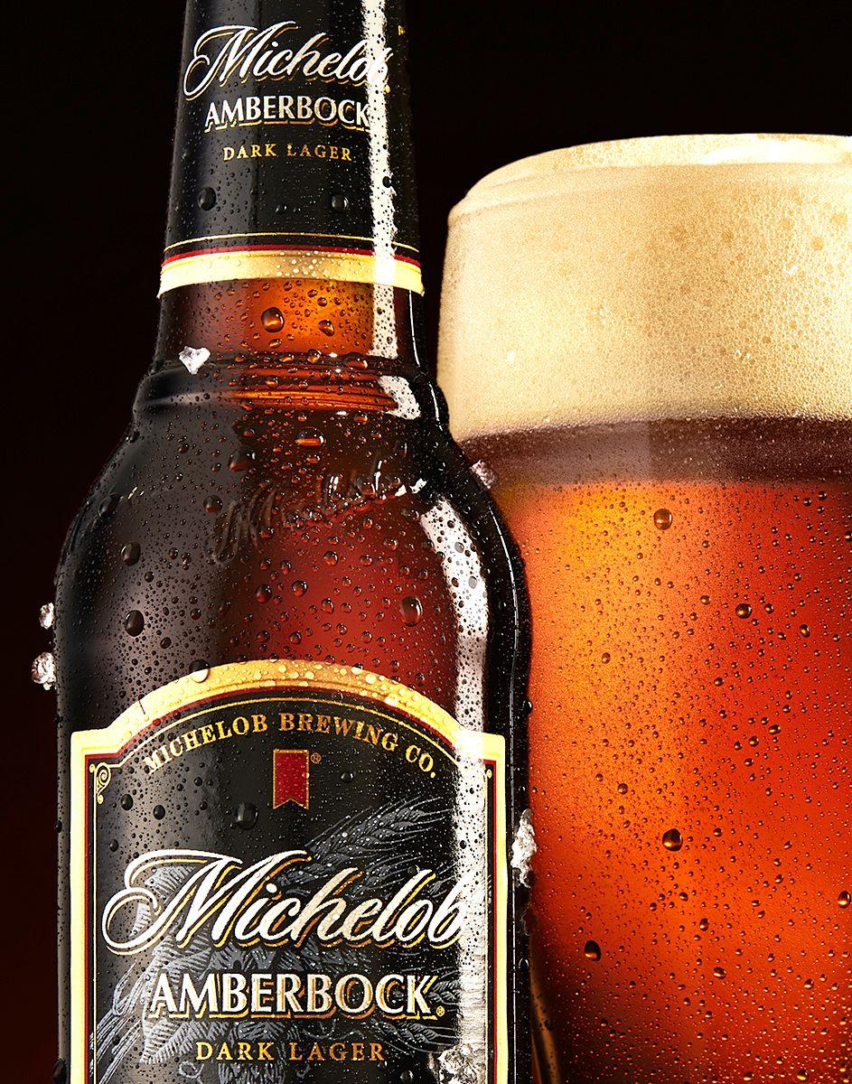 Michelob Amberbock Beer Beverages Whiskey Bottle