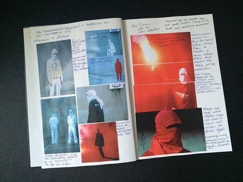 """Photo of deadward on Instagram: """"RAF SIMONS 2002 in the Art History notebook"""""""